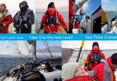 Sail Taster days and Sea Time Cruises…