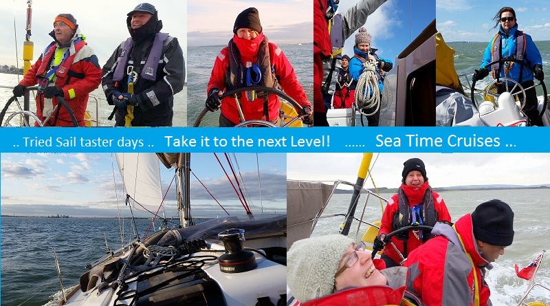 Taster Days and Sea-Time Cruises